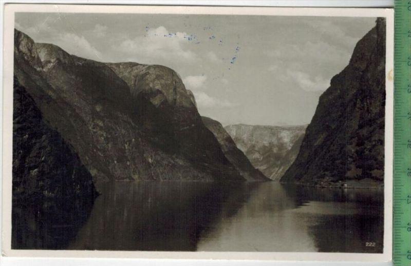 Norge, Narofjord, 1959Verlag: --------------, –  PostkarteFrankatur,  Stempel, GUDVAN 25.VII.59Maße:14  x 9 cmErha