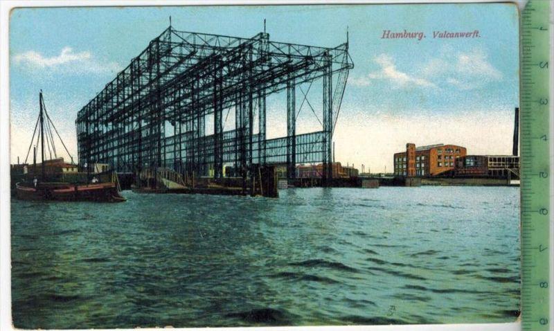 Hamburg, VulkanwerftVerlag: -------------- ,  Postkarteunbenutzte Karten,Maße:14,5 x 10,5 m. Erhaltung:I-II, Karten werd