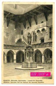 Krakau. Biblioteka Jagiellonska i pomnik m. Kopernika, Gel. Feldpost 28.03.1941
