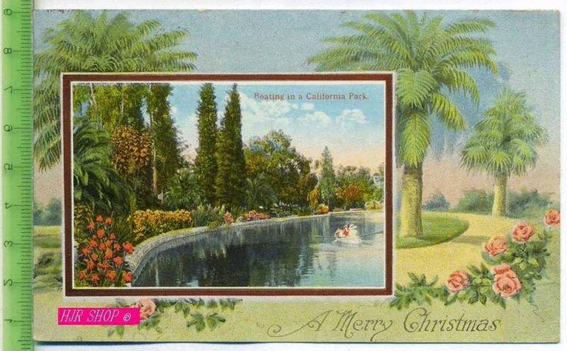 Roating in a California Park Gel. 20.12.1920/ Reddley