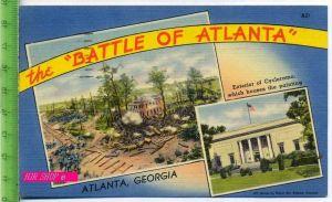 The Battle of Atlanta  Gel. 11.10.1949 / Atlanta