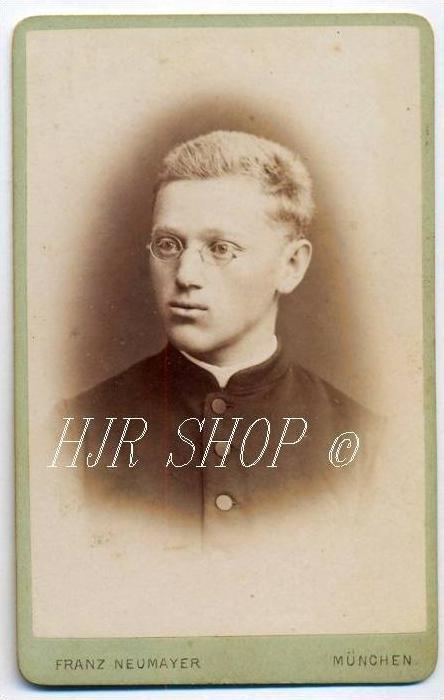 Franz Neumeyer, München vor 1900 kl. Format, s/w., I-II,