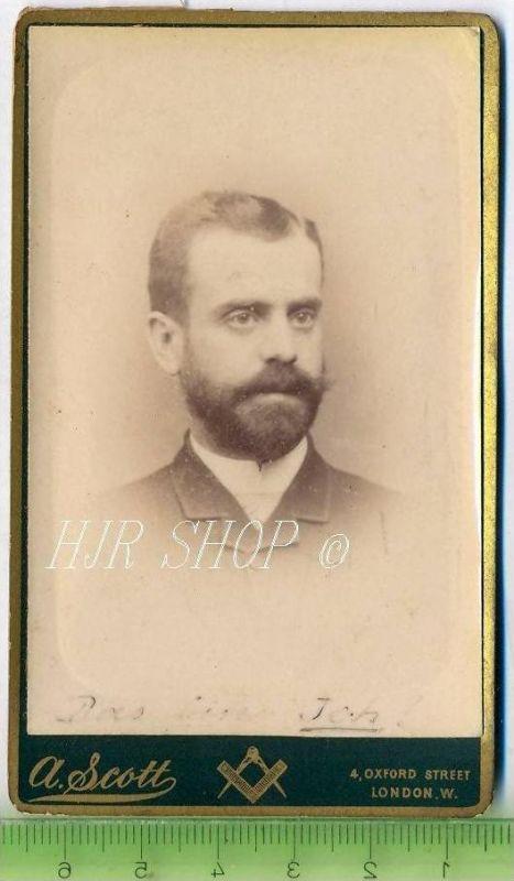 A. Scott, London vor 1900 kl. Format, s/w., I-II,