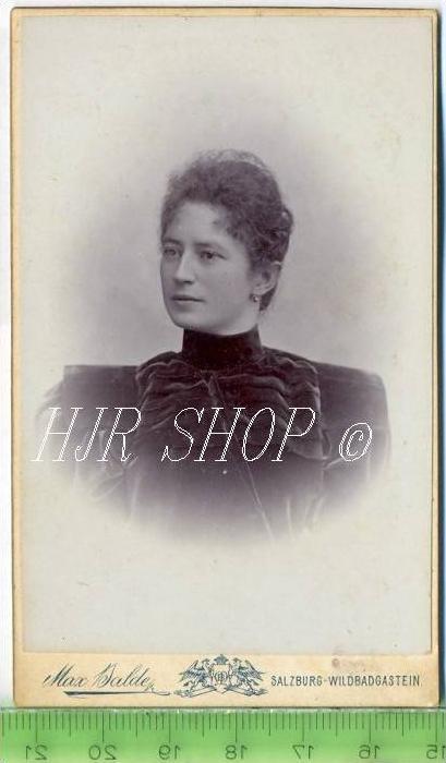 Max Balde, Salzburg vor 1900 kl. Format, s/w., I-II,