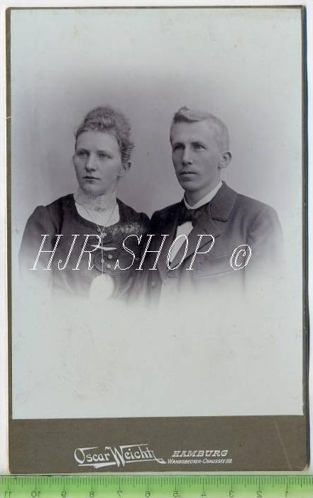 Oskar Weicht, Hamburg vor 1900 Gr.. Format, s/w., I-II,