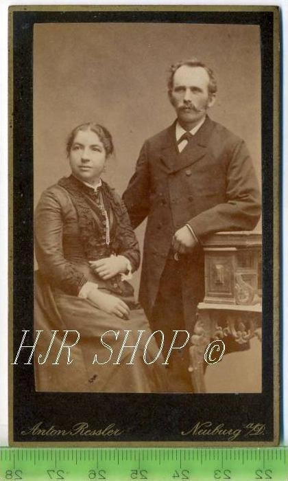 Anton Ressler, Neuburg a. D. vor 1900 kl.. Format, s/w., I-II,