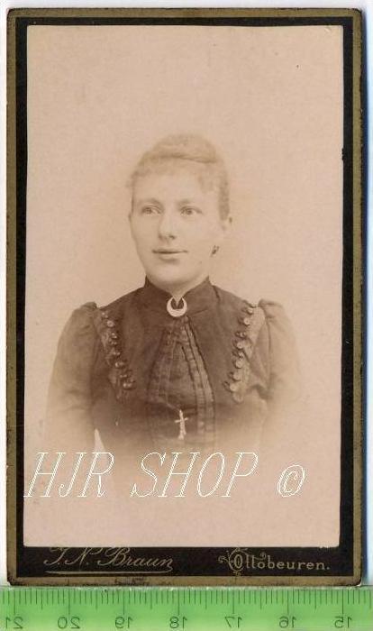J.N. Braun, Ottobeuren vor 1900 kl.. Format, s/w., I-II,