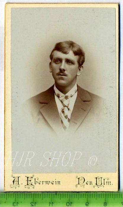 A. Eberwein, Neu Ulm vor 1900 kl.. Format, s/w., I-II,