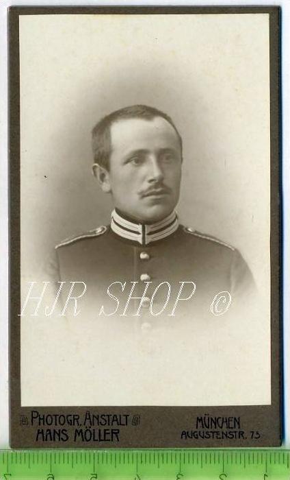Hans Möller, München vor 1900 kl.. Format, s/w., I-II,