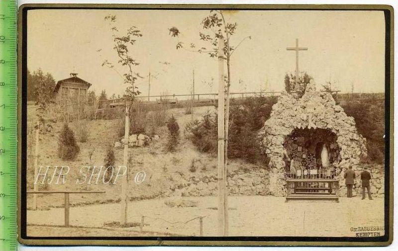 Kapelle, vor 1900 Gr. 11 x 17 cm Format, s/w., I-II,