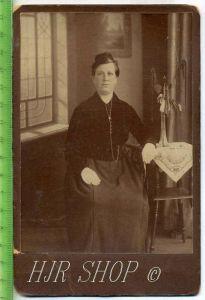 Damenfoto um 1900 Gr. Format, s/w., I-II,