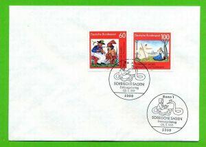 1991, 5. Nov.. Sorbische Sagen, 1576, 1577**, Gest.FDC