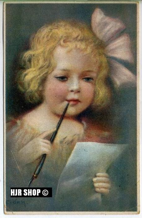 um 1920/1930 Ansichtskarte Kind,