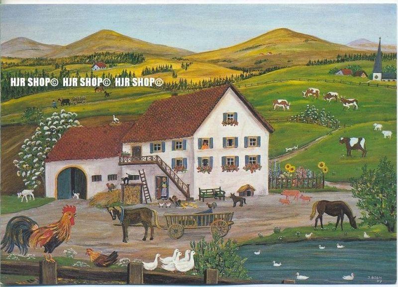 WIECHMANN – BILDKARTEN INGE BORN, Bauernhof, Nr.5253
