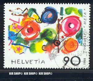 1988, Zeitgenössische Kunst, MiNr. 1380 gest.
