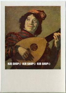 """"""" Der Narr, Franz Hals""""   um 1920/1930,  Ansichtskarte, Amsterdam, Rijksmuseum"""