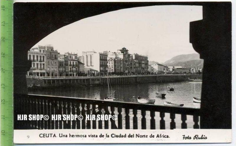 """""""Ceuta"""",   Ansichtskarte  ungebrauchte Karte"""