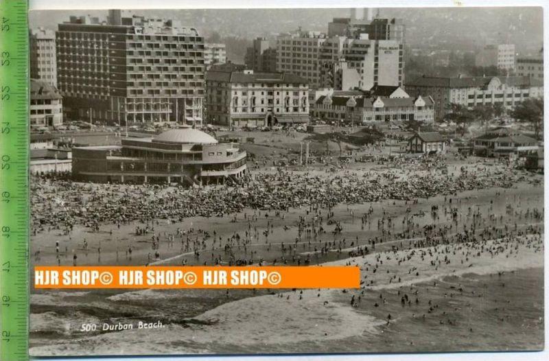 """""""Durban, Beach"""",   Ansichtskarte  ungebrauchte Karte"""