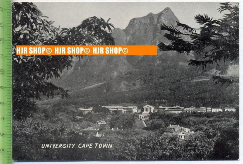 """""""Cape Town, University"""",   Ansichtskarte  ungebrauchte Karte"""