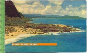 """""""Widward Oahu """", um 1960/1970   Ansichtskarte  ungebrauchte Karte"""