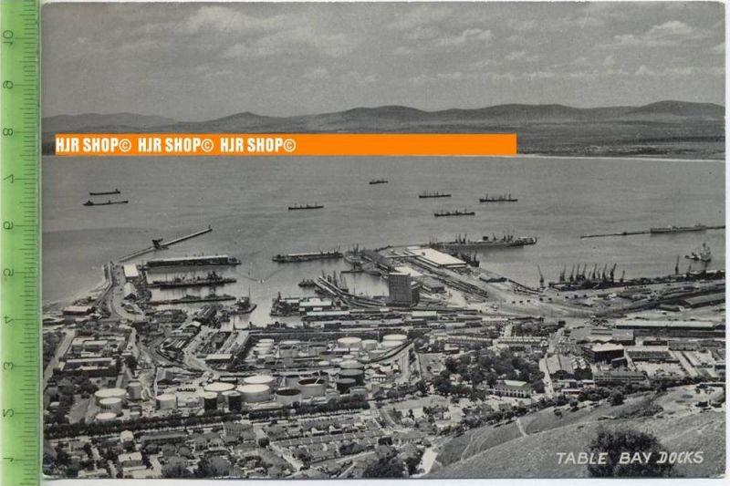 """""""Table Bay Docks """", um 1960/1970   Ansichtskarte  ungebrauchte Karte"""