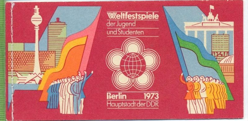 1973, Weltfestspiele, MH.- MiNr. 7 **   Zustand: I-II