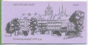 1990, Bauwerke und Denkmäler, MH.- MiNr. 10 **   Zustand: I-II