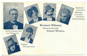 Bernhard Wilhelmy, Charakter-Komiker, Original Wilhelmy