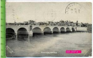 Hartford Bridge Gel. 8.01.1910/ Hartford. Conn.