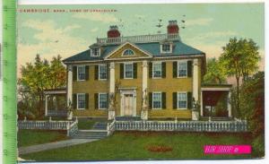 Cambridge, mass., Home of Longfellow Gel. 26.03.1910 / Boston,Mass.