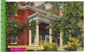 Eastman hall, East Greenwich High School, East Greenwich, R.I. Gel. 04.1954 / East Greenwich