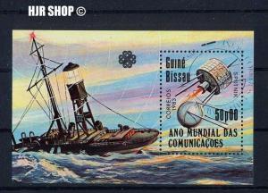 1983, Block Sputnik, Guinè Bissau gest.
