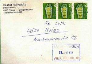 Brief, 25.06.1982, Essen – Mainz,