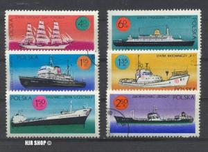 1971, 20. Febr. Schiffe, MiNr.2050-2055, Gest., Zustand: Gut