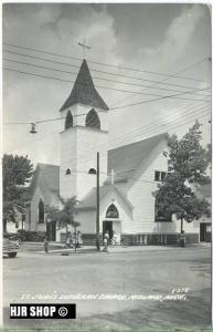 "um 1950/1960 Ansichtskarte ""St. Johns"",  gelaufene Karte"