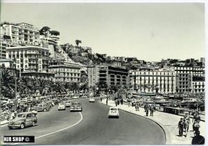 """um 1950/1960 Ansichtskarte """"Neapel"""",  gelaufene Karte mit Frankatur"""