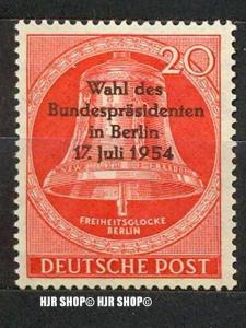 1954, Wahl des Bundespräsidenten, 118**