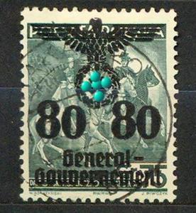 1940, 20 Jahre Republik Polen, MiNr.26 gest