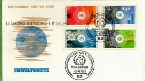 1973, Minr 774-777, FDC Zustand: sehr Gut