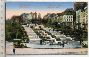 Le Mont des Arts, Brüssel Verlag----, Postkarte,  Erhaltung: I –II Karte wird in Klarsichthülle verschickt.(M)