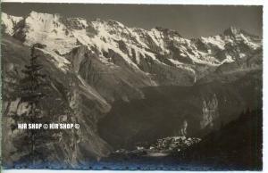 """um 1920/1930 Ansichtskarte,  """"Mürren,""""  ungebrauchte Karte"""