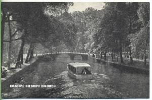 """"""" Oud-Amsterdam – O.Z. Voorburgwal""""   um 1930/1940,  Ansichtskarte, ungebrauchte Karte"""