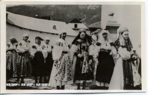 """"""" Trachtengruppe""""   um 1950/1960,  Ansichtskarte, ungebrauchte Karte"""