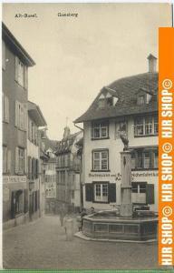 """Alt-Basel, Gemsberg""  um 1930 /1940   -Postkarte,  ungebrauchte Karte"
