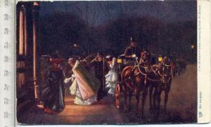 Gemälde, um 1910/1920 Verlag: Raphael Tuck, Feld- Postkarte ohne Frankatur, mit Stempel, K.L.bay.Jäg.R., 17.09.15 Erhalt