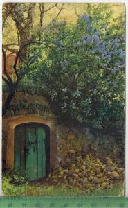Gartenlandschaft Verlag: Weltpostverein, Postkarte mit Frankatur, mit Stempel BRAUNSCHWEIG 6.5.06 SCHÖPPENSTEDT 7.5.06 E