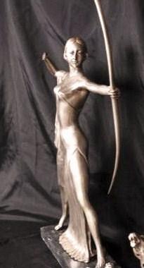 Art Deco Skulptur, Diana Bronze vers.,  0