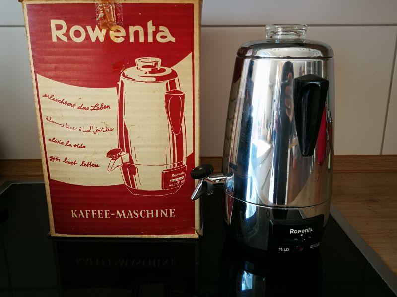 Rowenta Kaffeemaschine - Alt, Rarität
