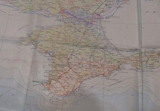 Extrem seltene Karten des deutschen Piloten, komplett mit Tasche und Zubehör. 1942 Jahr 8