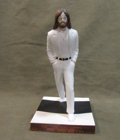Eine Statuette von John Lennon. Autorenarbeit. Porzellan